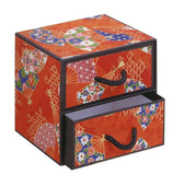 Japanese Box-Making Kit--2 drawer, square front