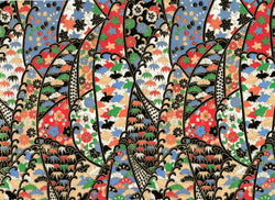 5071 Yuzen Chiyogami--multicolor birds and flowers