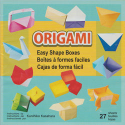 "Modular Box & Envelope Origami Kit 6"" 27 Sheets"