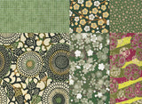 Chiyogami Assortment--Green As Well 15cm 36 Sheets