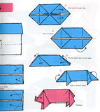 Educational Origami Book 12 projects, 12 pages