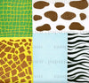 "Animal Print II 6"" 40 Sheets"