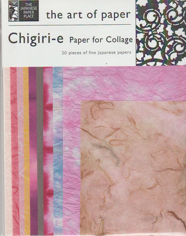 Chigiri-e Paper for Collage 1.7oz (1g),  8.5x11""