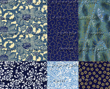 Chiyogami Assortment--Blue Too 15cm 36 Sheets