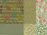 Chiyogami Assortment--Green Again 15cm 36 Sheets