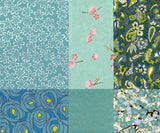 Chiyogami Assortment--Turquoise 15cm 36 Sheets