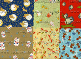 Chiyogami Assortment--Critters 15cm 36 Sheets
