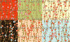 Chiyogami Assortment--Plum Blossoms 15cm 36 Sheets