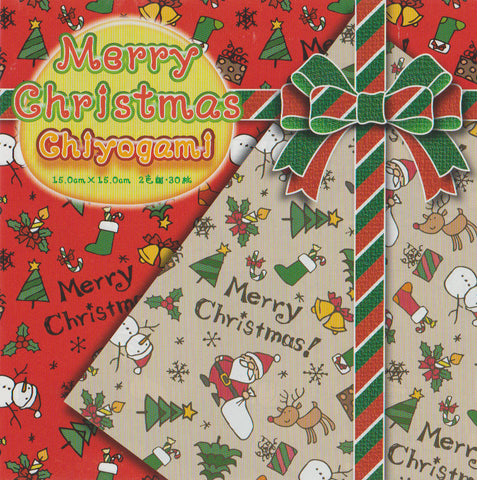 "Merry Christmas Chiyogam 6"" 30 Sheets"