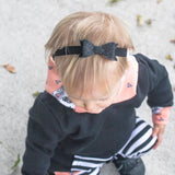 Glitter Bow Headbands