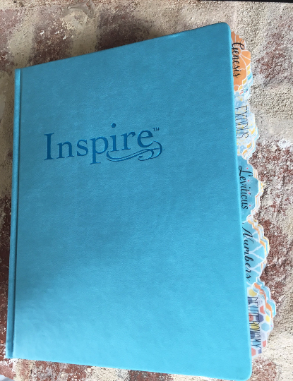 Large Print Inspire Bible Hardcover