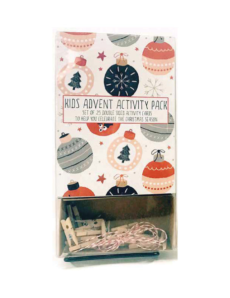 Kids Advent Activity Pack