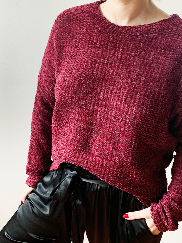 SWEATER CASTIGNON VINO