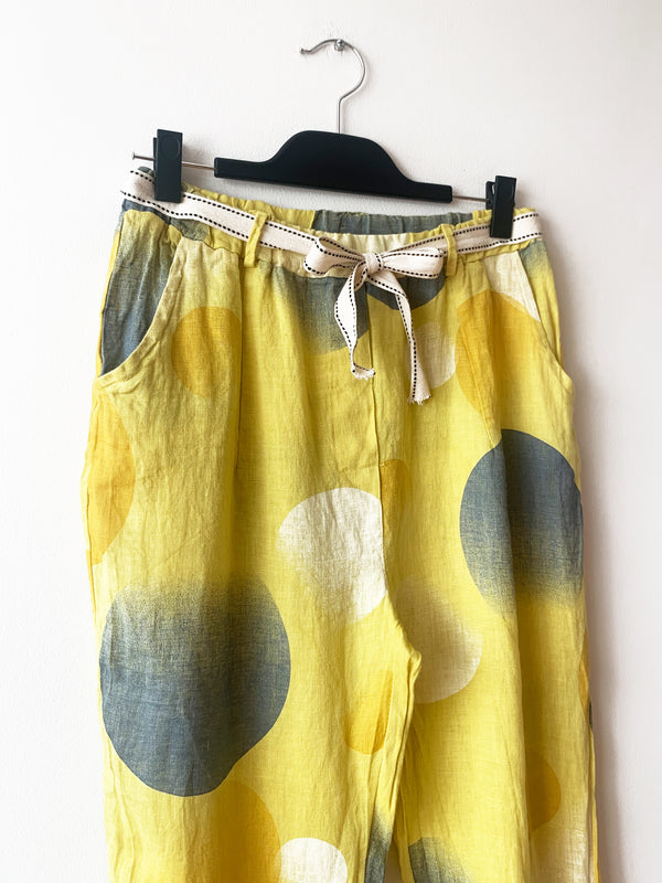 PANTALON ESTATE AMARILLO