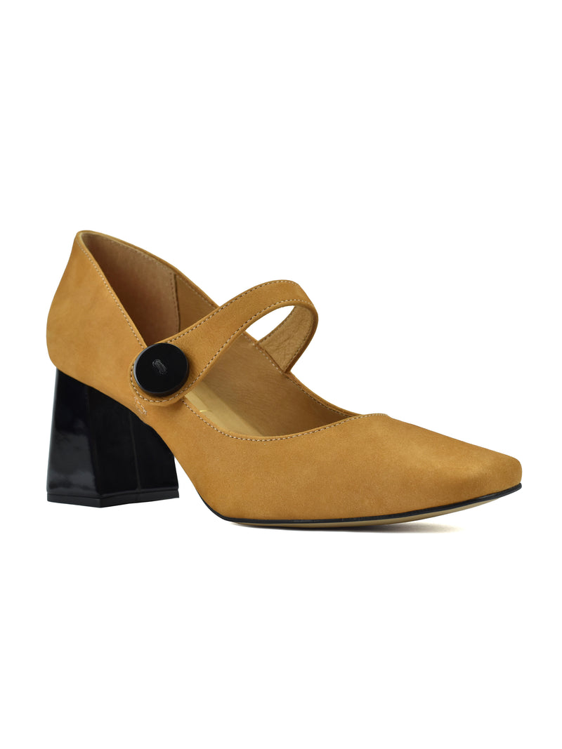 PUMPS MARGARET DARK CHEDDAR