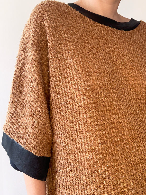 SWEATER COLLODI MARRON