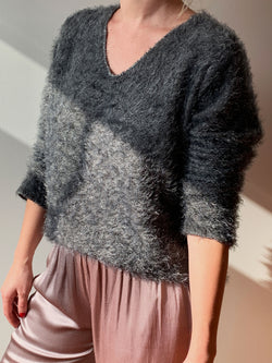 SWEATER VIENNA GRIS OSCURO