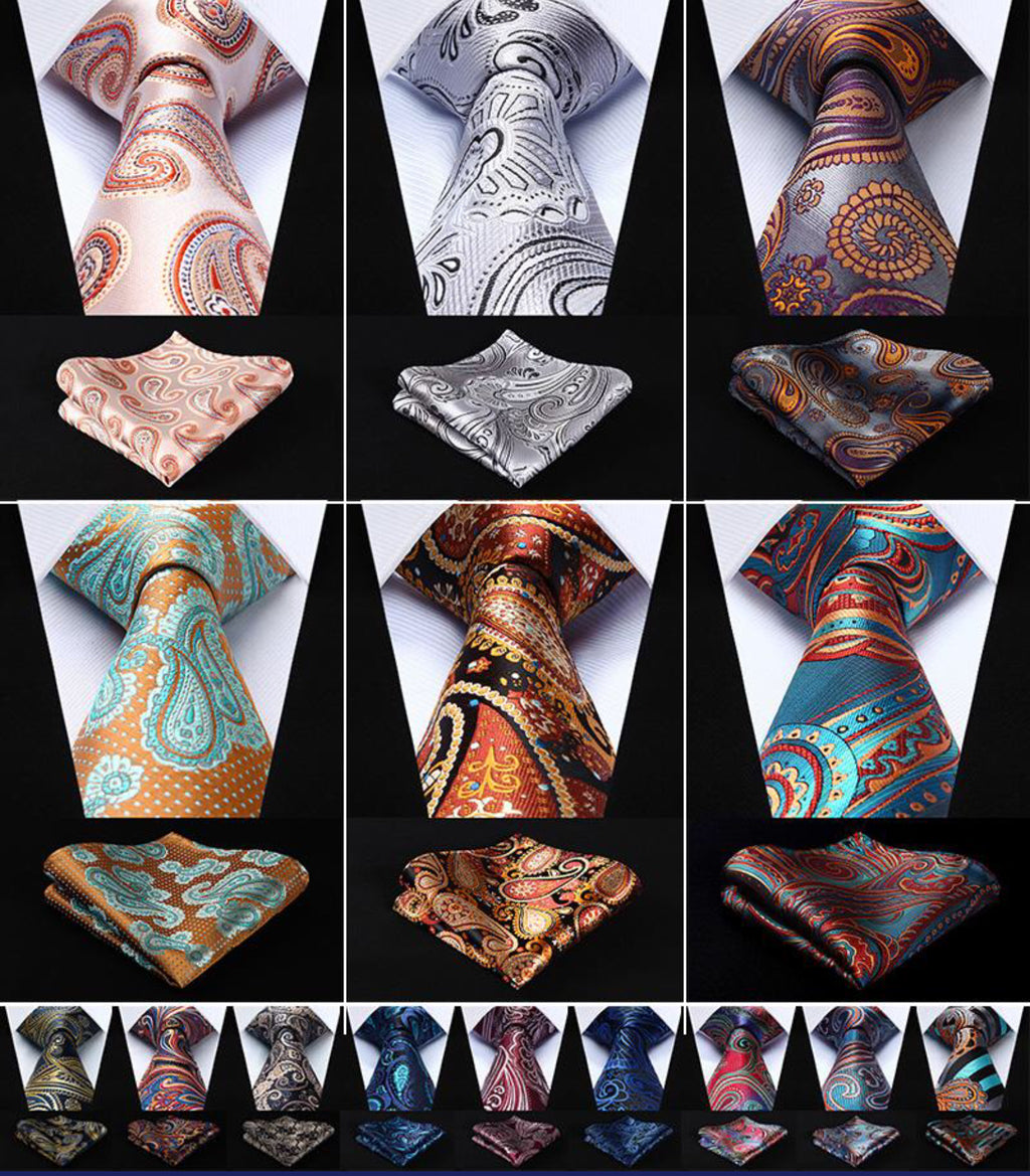 100% Silk Neckties