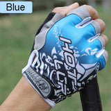 Gel Pad Cycling Glove. Breathable Shockproof Cycling Gloves Accessories