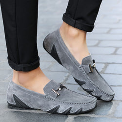 Genuine Leather Moccasins. Casual Shoes For Spring.-Shoes-Flying Ninja Fashion