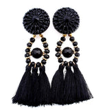 2018 Beautiful Tassel earrings.  Boho Drop Dangle Fringe. Make A Statement With These Earrings.