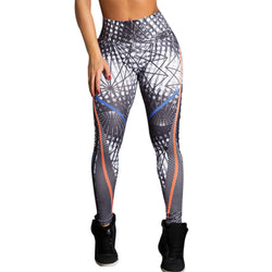 Women High Waist Yoga Fitness Leggings. Running Gym Stretch Sports Pants Trousers.