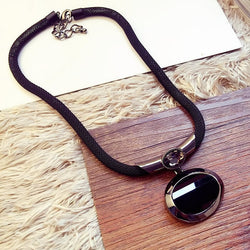 Elegant Women Necklace With Pendant.-Necklace-Flying Ninja Fashion