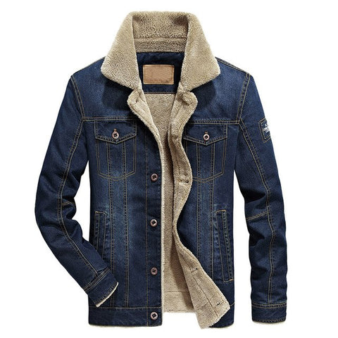 2019 Fashion Denim Jacket for Men.  Winter Outerwear for Men.