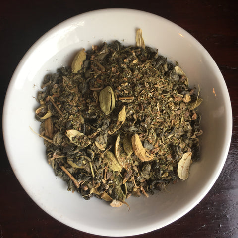 Green Tea Chai Organic