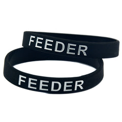 Feeder Silicone Wristband Bracelet For Gamers
