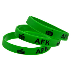 AFK Silicone Wristband Bracelet for Gamers