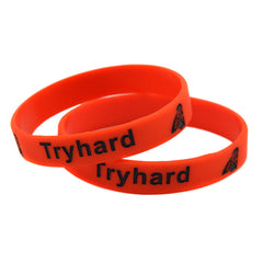 Try Hard Silicone Wristband for Gamers