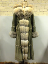 "Lamb Suede ""Calista"" Coat"