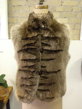Long Haired Beaver Reversible Vest