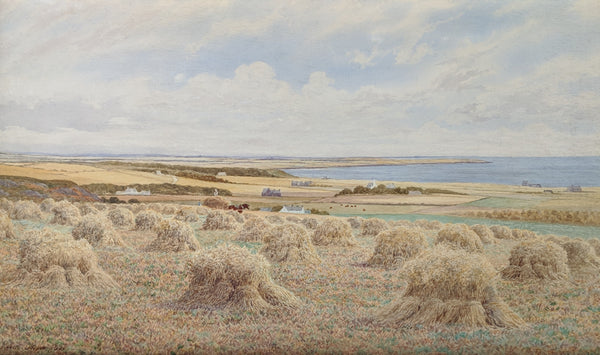 Robert Dobson - Coastal Haystacks in England, 1897
