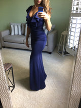 Daffnee's Boutique Daffy Navy Gown