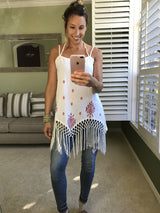 Daffnee's Boutique Allegra Tassel Top