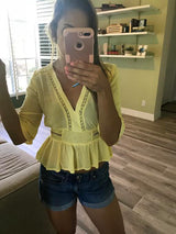 Daffnee's Boutique Beach Day Top