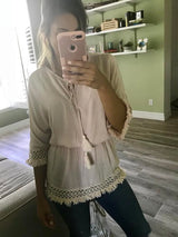 Daffnee's Boutique Morocco Top