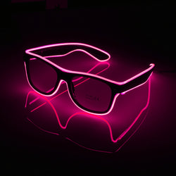 Shades Blue Mammoth Sales Spaceman Light Up LED Glasses