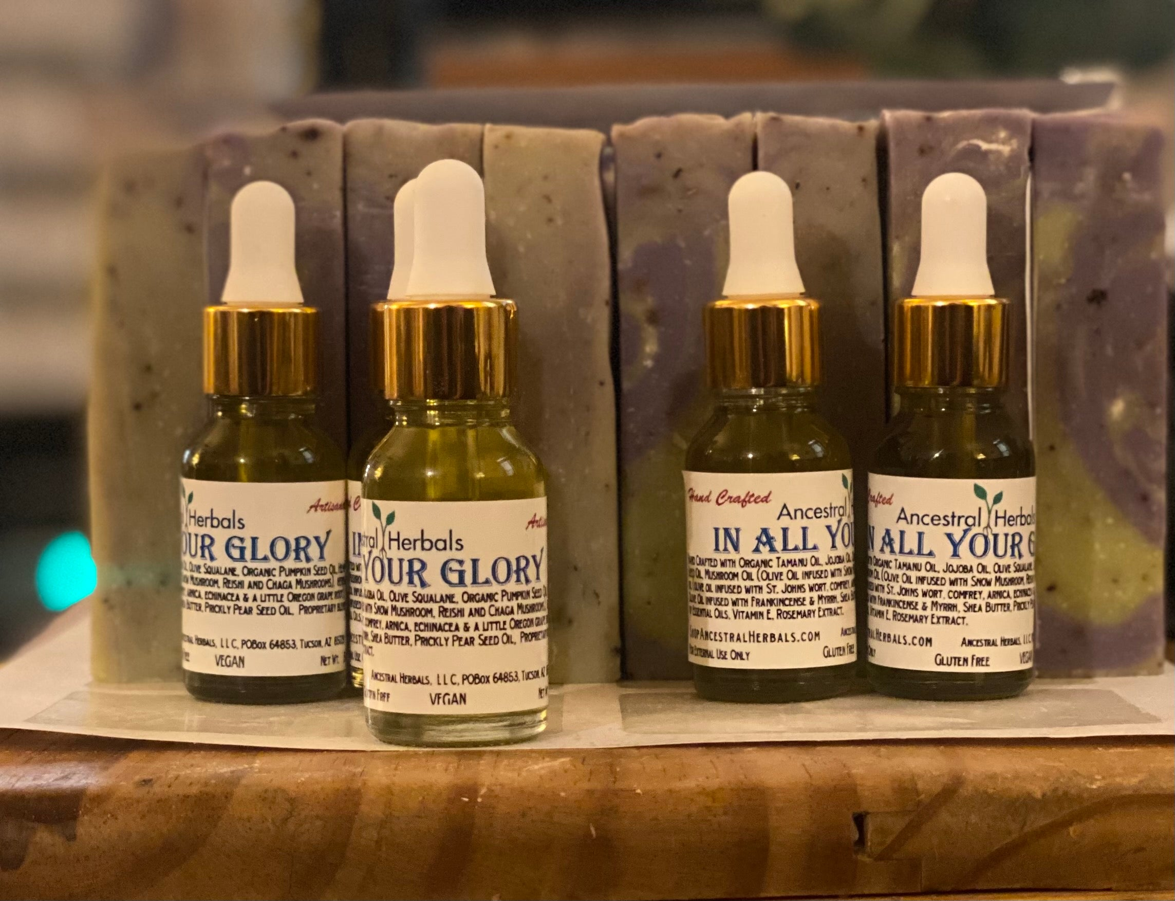 In All Your Glory Face Oil
