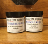 VEGAN Pain cream + Muscle Rub set