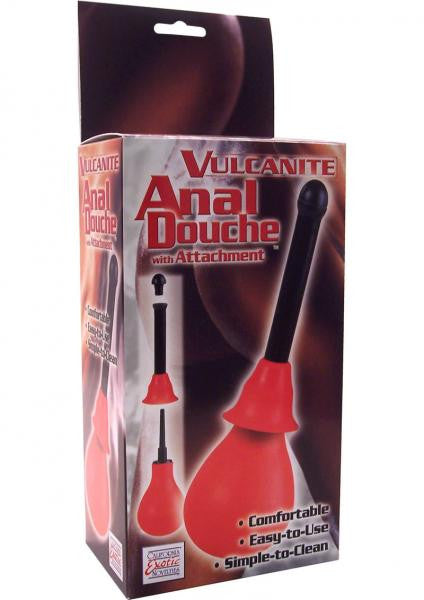 VULCANITE ANAL DOUCHE WITH ATTACHMENT - Anal Douches, Enemas & Hygiene by California Exotic Novelties - Private Gifts Manila