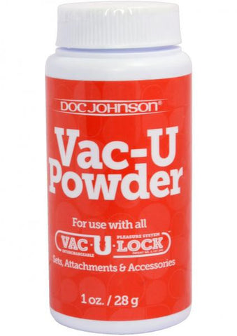 Vac U Lock Powder Lubricant - Strap-on Harnesses by Doc Johnson - Private Gifts Manila