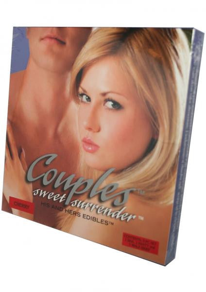Couples Sweet Surrender His And Hers Edible 3 Piece Cherry - Lingerie by Kingman Industries Inc - Private Gifts Manila