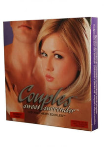 Couples Sweet Surrender His And Hers Edible 3 Piece Passion Fruit - Lingerie by Kingman Industries Inc