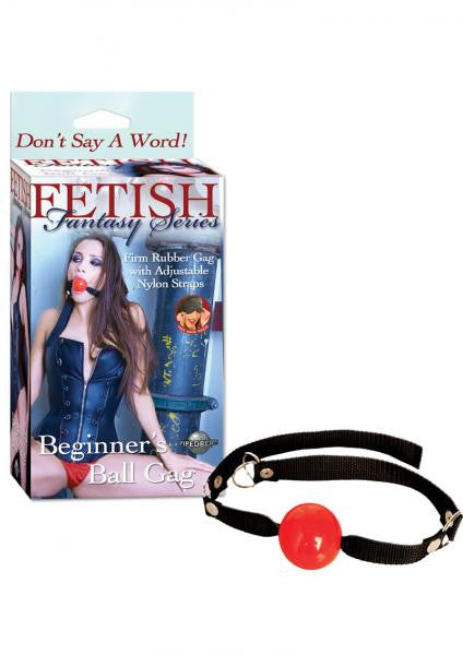 Fetish Fantasy Beginners Ball Gag Red - Ball Gags by Pipedream Products - Private Gifts Manila