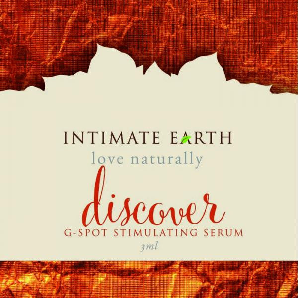 Intimate Earth Discover G Spot Gel Foil Pack .10oz - Private Gifts Manila