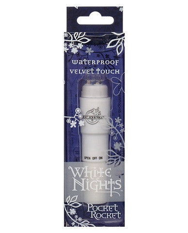 White Nights Pocket Rocket - Pocket Rockets by Doc Johnson - Private Gifts Manila