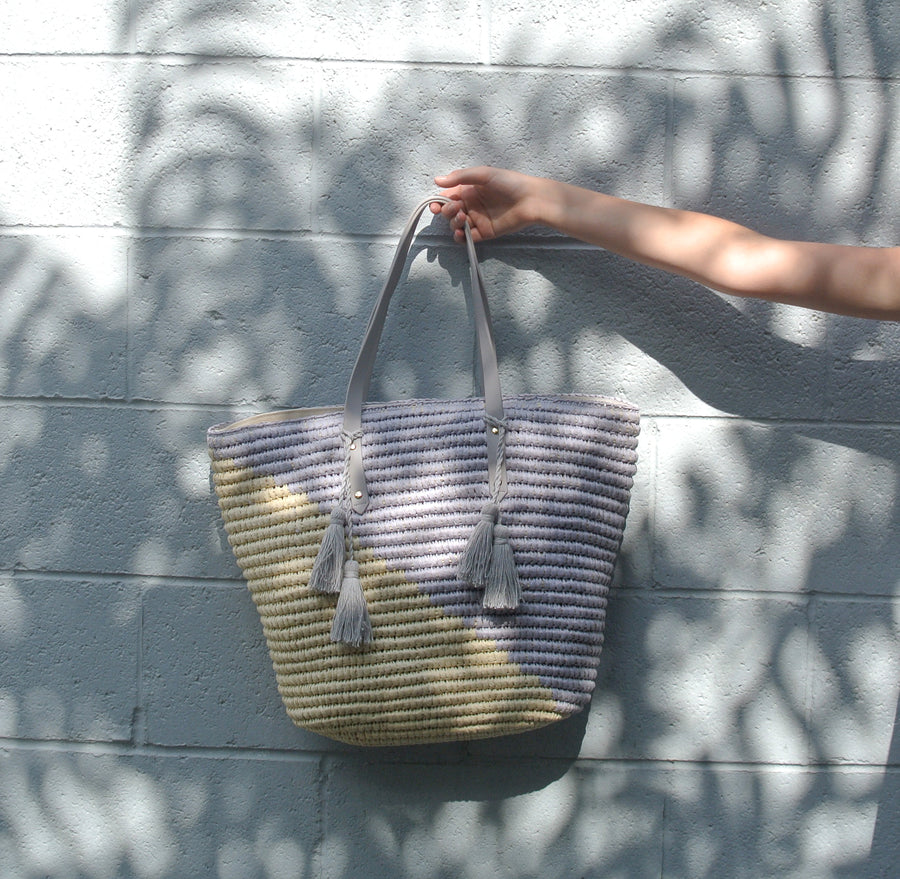 Low Tide Tote Strom Grey /Natural